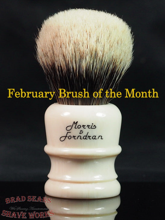 The Morris & Forndran Style 1, the BSSW Brush of the Month