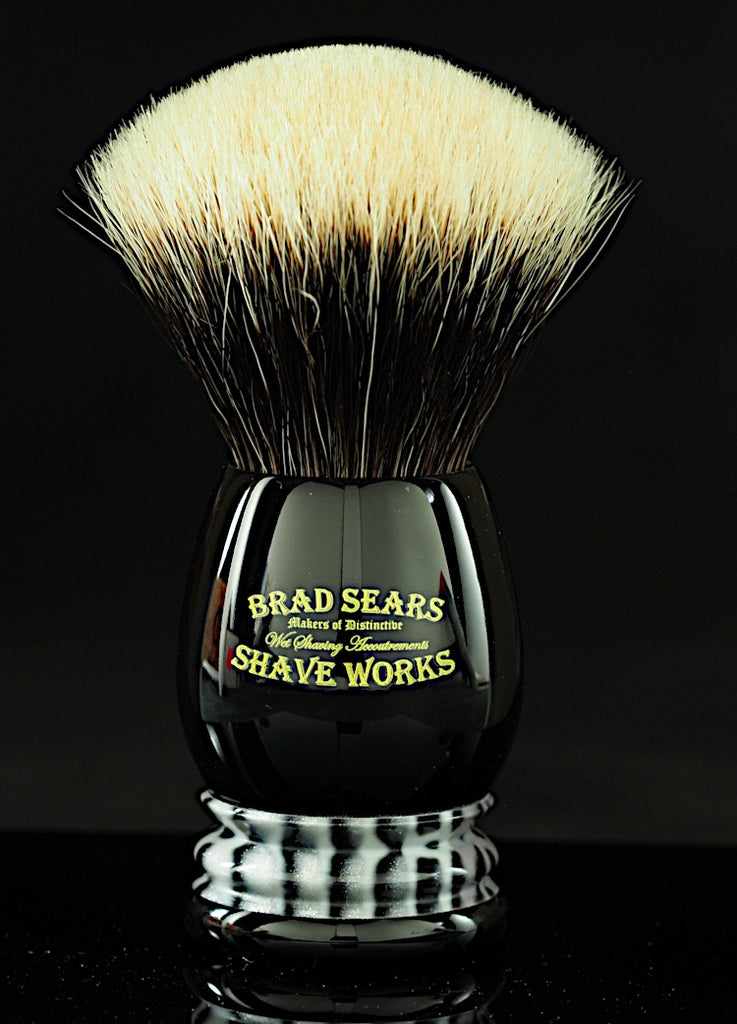 Preacher Shaving Brush by Brad Sears ShaveWorks