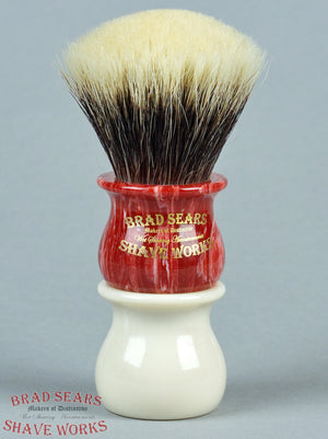 Rosebud/26 Estate Badger by Brad Sears ShaveWorks
