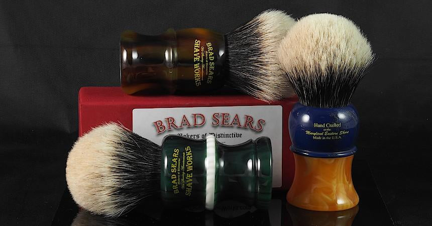 Some BSSW Standard Shaving Brushes