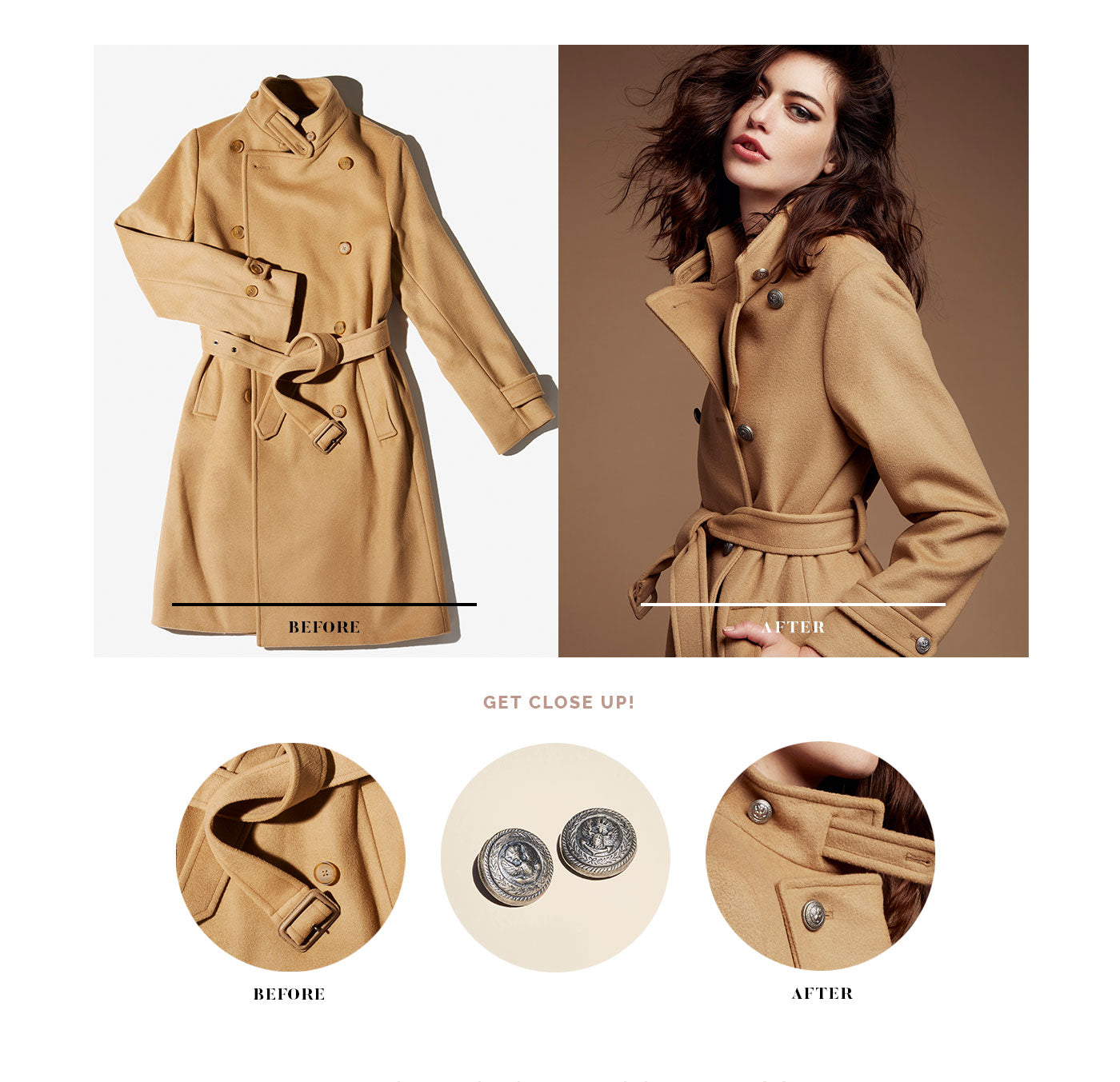 Classic Camel Trench