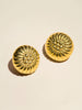 Sunburst Brass Shank Set - Button Avenue - 1