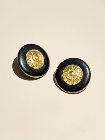 Brass Blossom Shank - Button Avenue - 1