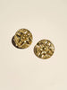 Pierced Vintage Brass Flower - Button Avenue - 1