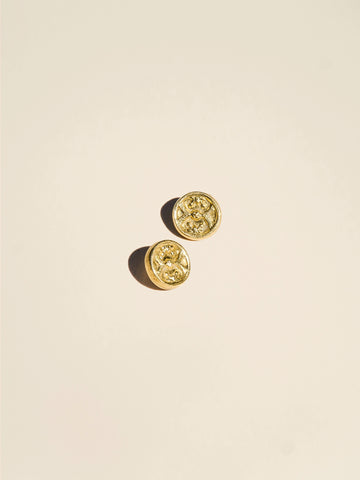 Brass Detailed Shank - Button Avenue - 2
