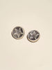 Embossed Star Brass Shank - Button Avenue - 1