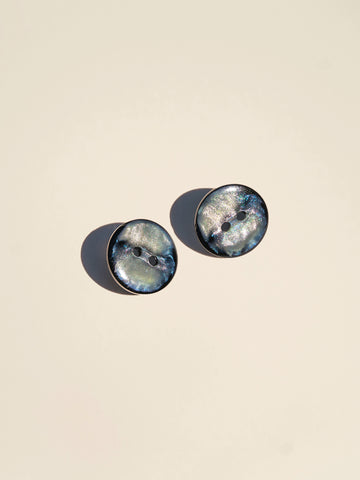 Faux Mother of Pearl Fisheye Button - Button Avenue