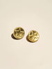 Embossed Star Brass Shank - Button Avenue - 2