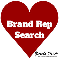 Reeve's Tees Brand Rep Search
