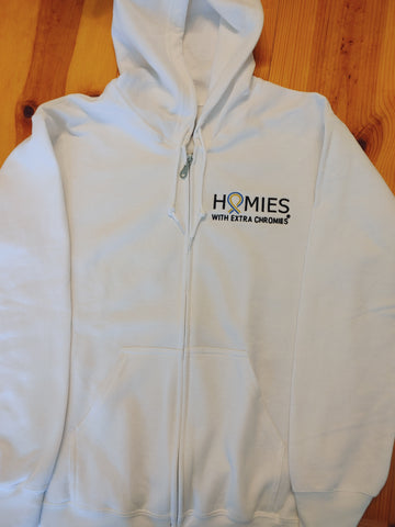 HWEC - Adult -  Embroidered Zipper Hoodie