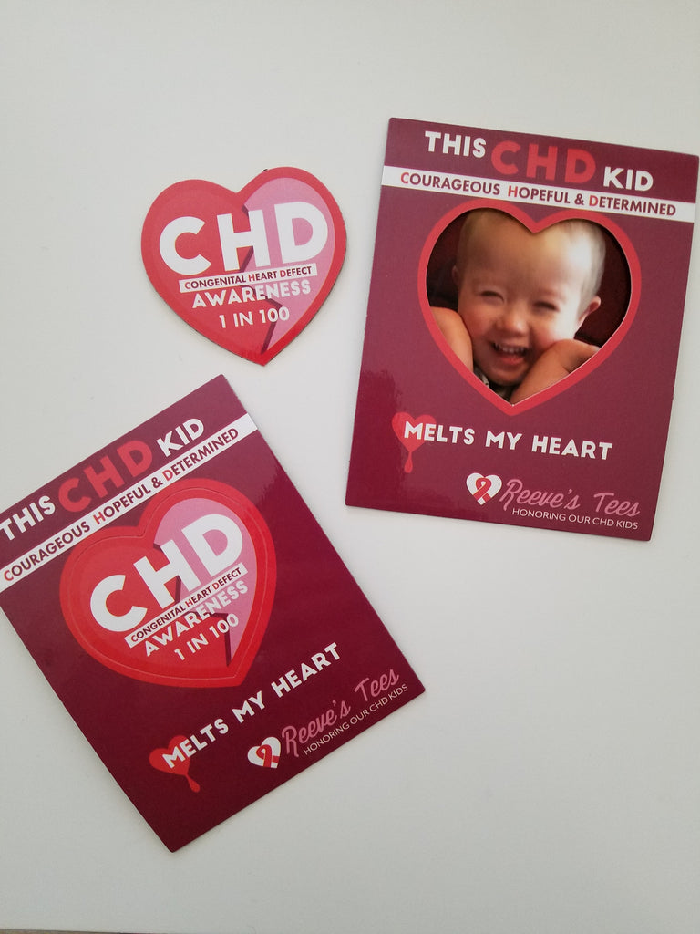 CHD Awareness - Heart Magnet