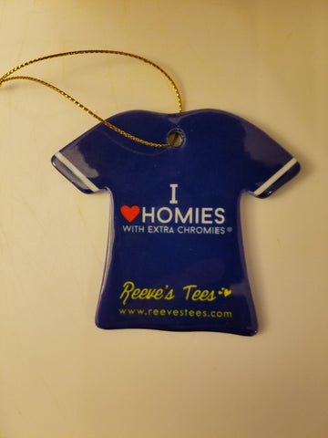 I Love Homies with Extra Chromies® T-Shirt Ornament