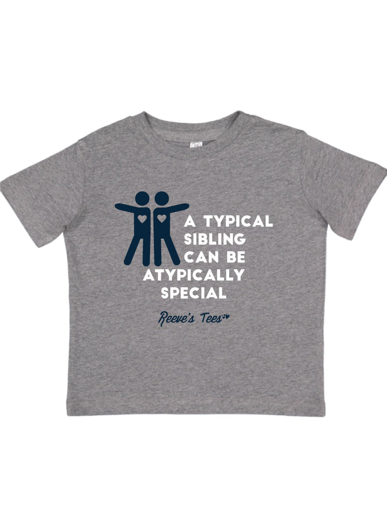 "SIBS - ""A Typical Sibling Can Be Atypically Special"" - Kids - Short Sleeve Tee"