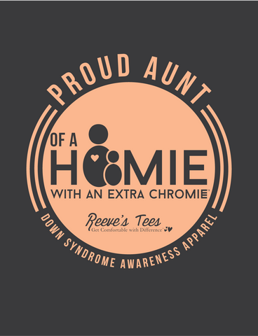 HWEC - Proud Aunt of a Homie with an Extra Chromie™ - Ladies - Short Sleeve Tee