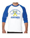 Dual Diagnosis - Autism + Down syndrome - Adult - 3/4 Raglan