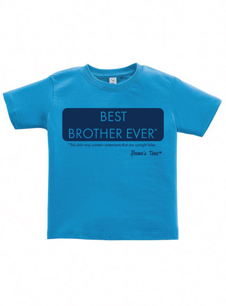 SIBS - Best Brother Ever*- Kids - Short Sleeve Tee