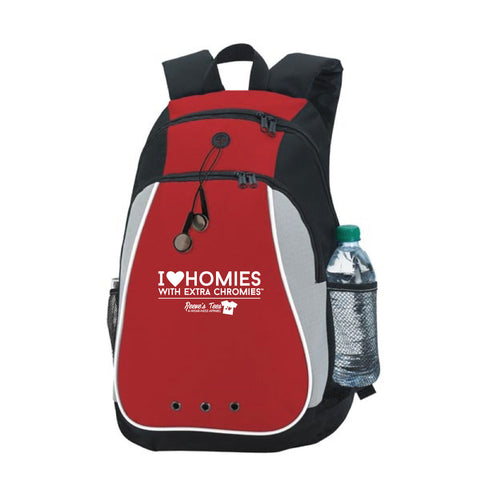 I Love Homies with Extra Chromies® - Red Backpack
