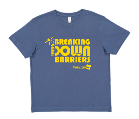 """Breaking Down Barriers"" - Toddler and Youth - Short Sleeve Tee"