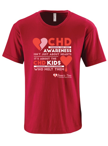 CHD (Congenital Heart Defect) Awareness Tees - Kids - Short Sleeve Tee