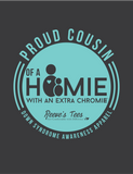 HWEC - Proud Cousin of a Homie with an Extra Chromie™ - Kids - Short Sleeve Tee
