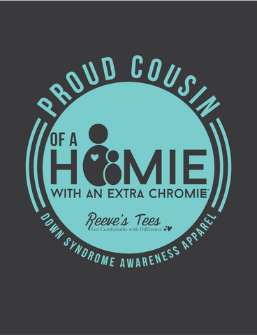 HWEC - Proud Cousin of a Homie with an Extra Chromie™ - Ladies and Adult - Short Sleeve Tee