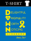 HWEC - D.O.W.N. Syndrome Awareness Tee - Adult - Long Sleeve Tee