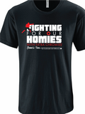 "Fighting for Our Homies with Extra Chromies® - UFC Devin ""Brown Bear"" Clark's Team Shirts"