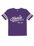 HWEC - Football Style - Homie with an Extra Chromie™ - FOR THE HOMIE - Toddler - Short Sleeve Tee
