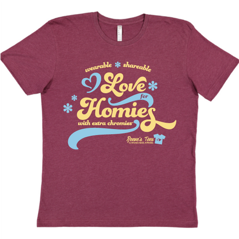 HWEC - Groovy - Wearable Sharable Love for Homies with Extra Chromies® - Toddler/Youth/Adult Tees