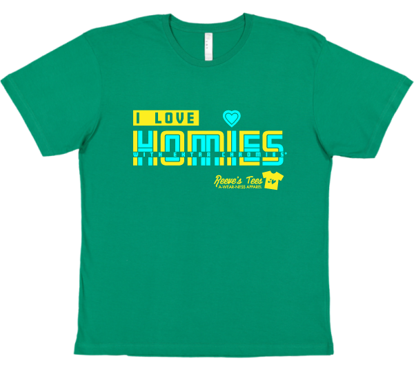 HWEC - I Love Homies with Extra Chromies® (SUPPORTERS) - Kids - Short Sleeve Tee - Retro Style