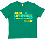 HWEC - Retro Style - I Love Homies with Extra Chromies® - FOR SUPPORTERS - Toddler/Youth/Adult Tees