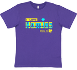HWEC - I Love Homies with Extra Chromies® (SUPPORTERS) - Adult - Short Sleeve Tee - Retro Style