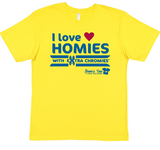 HWEC - - I Love Homies with Extra Chromies® - FOR SUPPORTERS - Toddler - Short Sleeve Tee