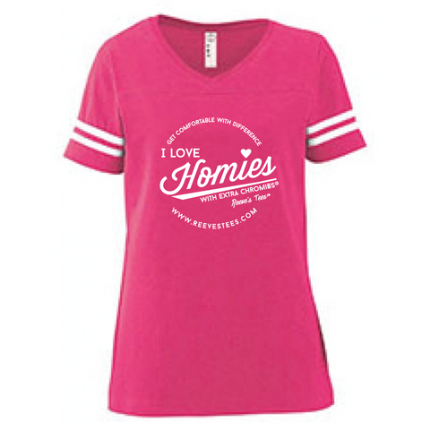 Football Style - I Love Homies with Extra Chromies® - Short Sleeve - Mens/Ladies