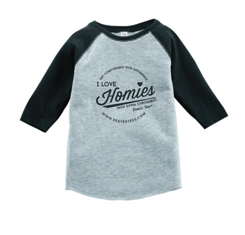HWEC - Baseball Style - I Love Homies with Extra Chromies® - FOR SUPPORTERS - Infant/Toddler