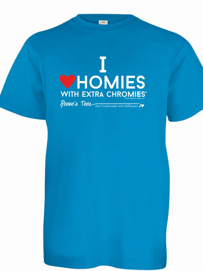 HWEC - I Love Homies with Extra Chromies® - Youth - Short Sleeve Tee