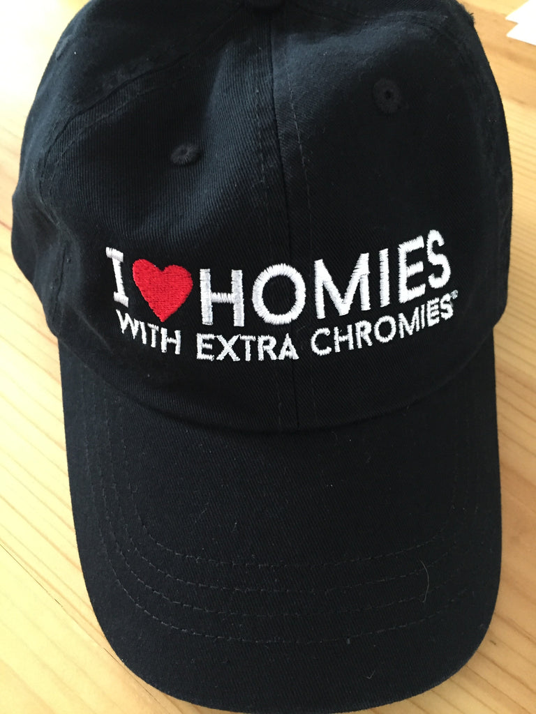 HWEC - I Love Homies with Extra Chromies - Baseball Cap