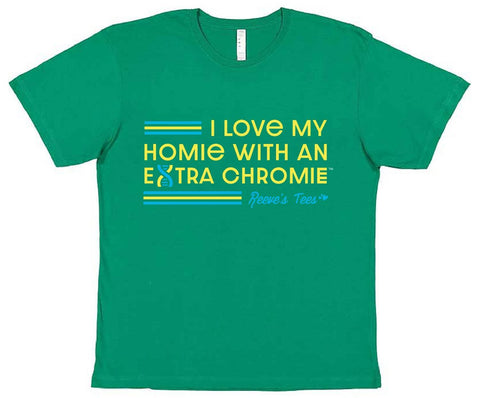 HWEC - I Love My Homie with an Extra Chromie (SUPPORTERS) - Kids - Short Sleeve Tee