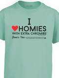 HWEC - I Love Homies with Extra Chromies® - Infant & Toddler - Short Sleeve Tee