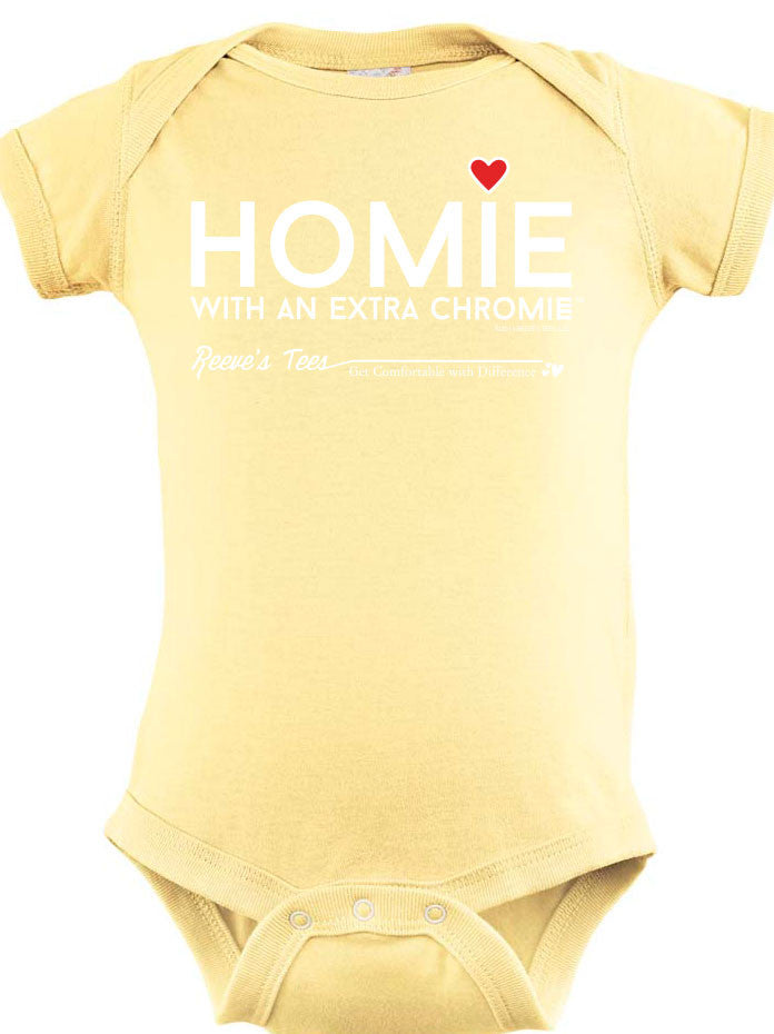 HWEC - Homie with an Extra ChromeTM - Newborn Onesie