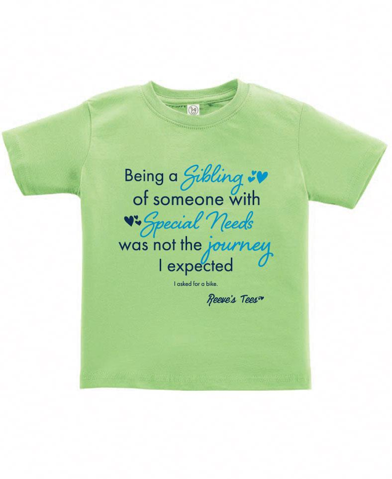 SIBS - Not the Journey I Expected - Kids - Short Sleeve Tee
