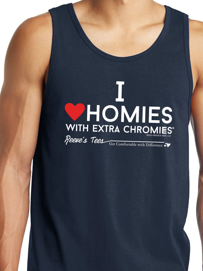 HWEC - I Love Homies with Extra Chromies® - Adult - Tank Top