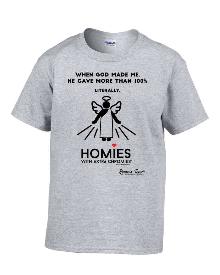 HWEC - God Gave More than 100 Percent - Infant, Toddler, Youth, & Adult - Short Sleeve Tee