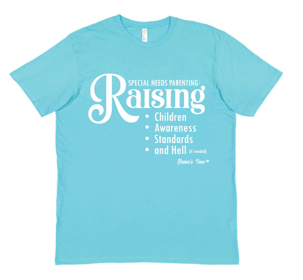 Special Needs Parenting (funny) - Adult - Short Sleeve Tee
