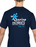 "HWEC - ""Running for Our Homies with Extra Chromies""- Adult - Short Sleeve Performance Tee"