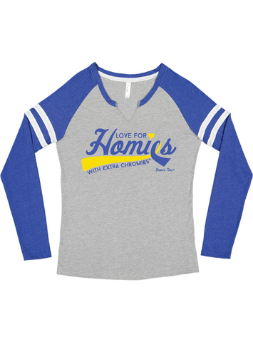 HWEC - Gameday Mashup (SUPPORTER) - Ladies - Long Sleeve Tee