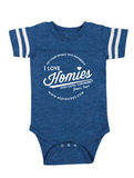 HWEC - Football Style - I love Homies with Extra Chromies® - FOR SUPPORTERS - Infant Onesies/Toddler Tees