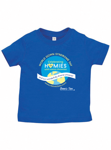 WDSD - World Down Syndrome Day -  Kids - Short Sleeve Tee