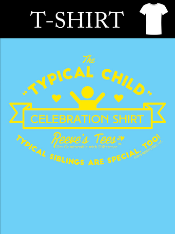 SIBS - Typical Child Celebration Shirt - Infant & Toddler - Short Sleeve Tee