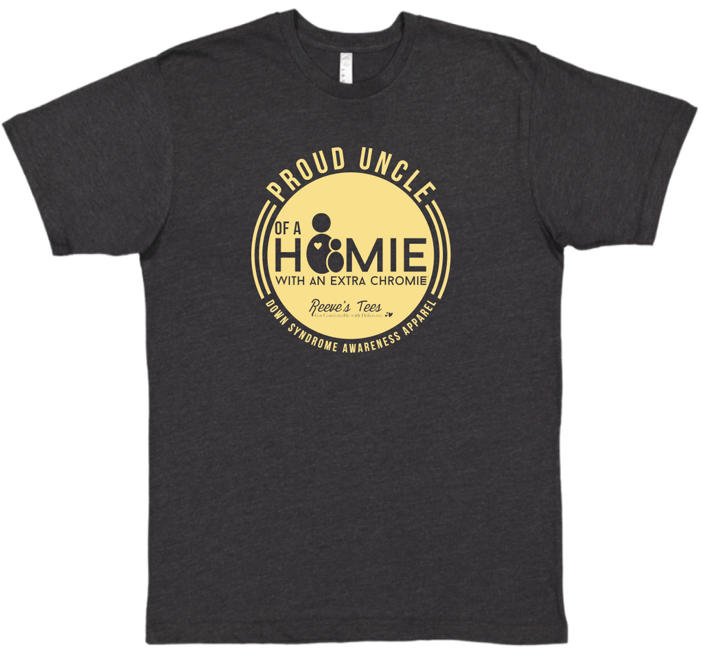HWEC - Proud Uncle of a Homie with an Extra Chromie™ - Men's Short Sleeve